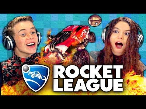 ROCKET LEAGUE Teens React Gaming
