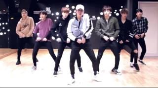 GOT7 - FLY mirrored dance practice  [50% slow]