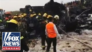 Bangladeshi passenger plane crashes in Nepal