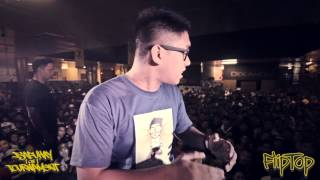 FlipTop - BLKD vs Gin - Isabuhay Tournament