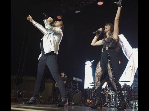 David Bisbal - Camila Cabello  BULERÍA Vídeo Oficial Madrid 27-06-2018.