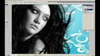 How to Cut Out Hair in Photoshop 7 0   YouTube