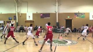 Youssef Eshra Oakwood Basketball vs York