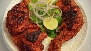 Tandoori Chicken Restaurant style without oven | Tandoori Chicken Recipe in hindi By Farheen Khan