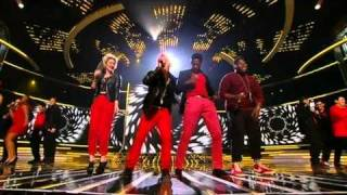 The Final 14 sing Telephone - The X Factor Results Show 2 (Full Version)