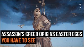 11 Assassin's Creed Origins Easter eggs you have to see