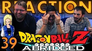 TFS DragonBall Z Abridged REACTION!! Episode 39