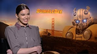 BUMBLEBEE interviews - Hailee Steinfeld, John Cena, Angela Bassett, Travis Knight