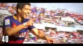 Luis Suarez - All 40 Goals In La Liga 2015-2016 HD