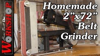 How to build a 2x72 Belt Grinder