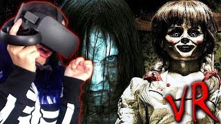 HORROR MOVIES in VR?! (SUPER Scary)