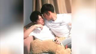 Gay Sweet Couple Kissing And Hugging In 2018