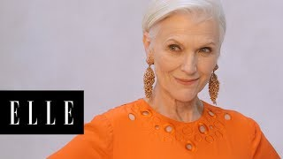 Maye Musk Talks About Starring in Beyoncé's Music Video | First Thing With | ELLE