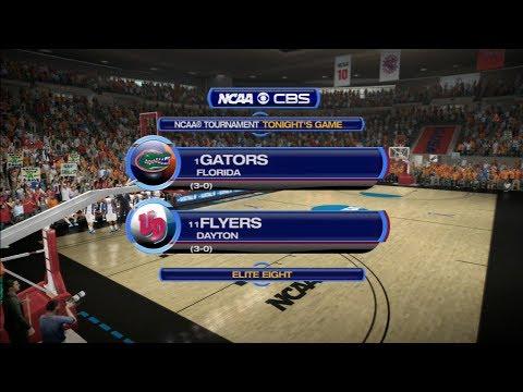 March Madness 2014: Florida (1) vs Dayton (11) Elite Eight - South Region Sim