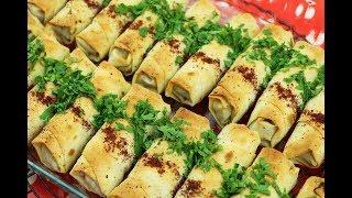 طريقة عمل المسخن رولات بالسماق، وصفة من المطبخ العربي الفلسطيني العريق مع رباح محمد ( الحلقة 561 )