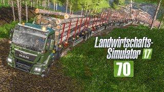 LS17 Forst #70 - Mit XXXXL-Anhängerschlage stecken geblieben! I LANDWIRTSCHAFTS-SIMULATOR 17