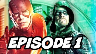 The Flash Season 4 Episode 1 Arrow Legends of Tomorrow Premiere Details