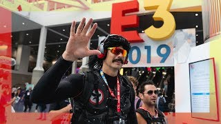 DrDisrespect IRL stream at E3 ULTIMATE RECAP