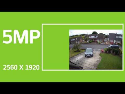 4K, 5MP, 4MP & 2MP Footage