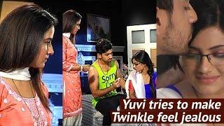 Yuvi tries to make Twinkle feel JEALOUS in Tashn-e-Ishq