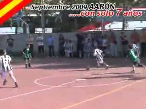 ☆☆☆next cristiano ronaldo 7 years old Aaron☆☆☆