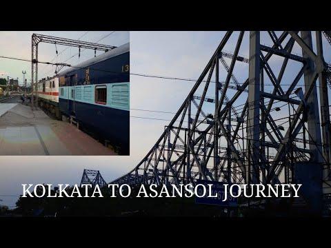 Kolkata to Asansol END to END journey | Agniveena(BIDHAN) express Full Journey Coverage |