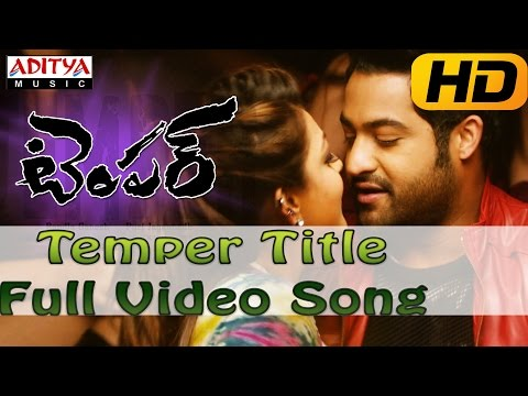 Temper Full HD Video Song - Temper Video Songs - Jr.Ntr, Kajal Agarwal
