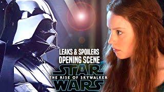 MAJOR The Rise Of Skywalker Opening Scene Leaks! WARNING (Star Wars Episode 9)