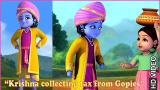 Krishna collecting tax from Gopies | Clip | Hindi