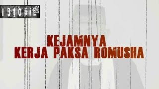 KEJAM !!! Inilah video asli dan saksi dari kegiatan romusha.