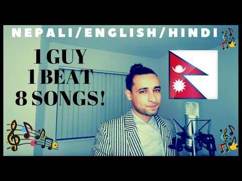8 Songs 1 Beat Mashup Cover English/Nepali/Hindi