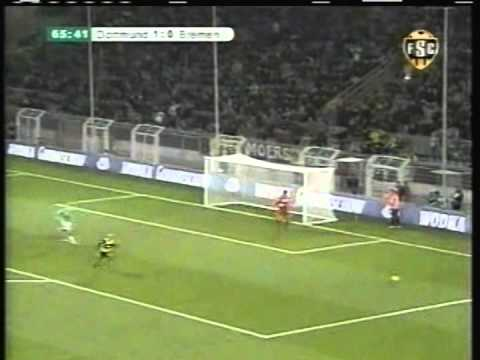 2008 (January 29) Borussia Dortmund 2- Werder Bremen 1 (DfB Pokal)- One Eighth Finals