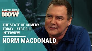 Norm Macdonald on The State of Comedy Today and