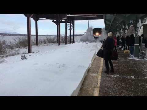 Amtrak Snow mo Collision