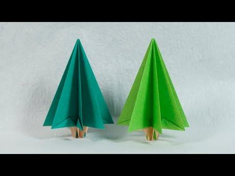 Easy Paper Tree - Origami Christmas Tree Tutorial (Henry Phạm)