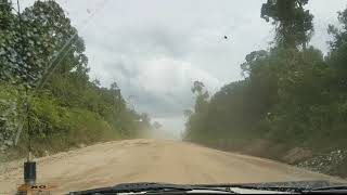 PAMA Hauling Road From Coal Mine in Central Kalimantan