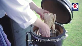 Keurslager - hele kip op bierblik - barbecue