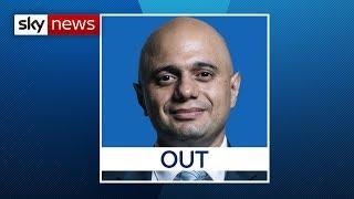 Breaking News: Sajid Javid out of the Tory leadership race