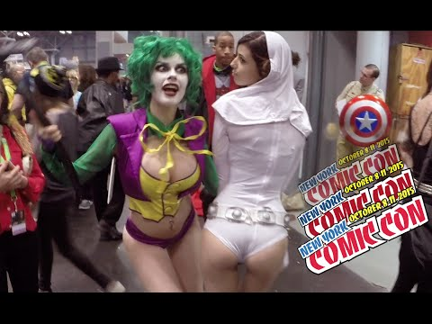 Xxx Mp4 NEW YORK COMIC CON COSPLAY 10 Of The Hottest Costumes 3gp Sex