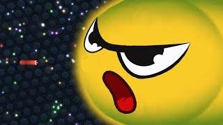 Slither.io 1 Tiny Troll Snake vs Giant Snakes Epic Slitherio Gameplay!