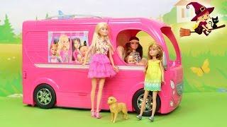 Autocaravana de Barbie el Viaje de Barbie y sus Hermanas al Pueblo Willow
