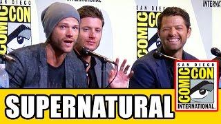 SUPERNATURAL Comic Con 2016 Panel (Part 1) - Jared Padalecki, Jensen Ackles, Season 12