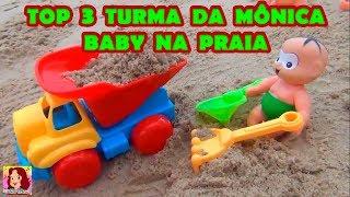 TURMA DA MÔNICA BABY NA PRAIA - OBA ! PRAIA ! 3 clipes