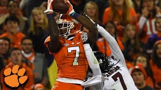 Mike Williams Top 3 Catches For Clemson vs. South Carolina