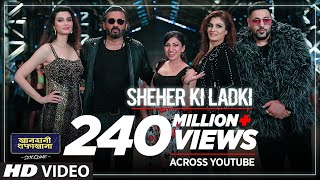 Sheher Ki Ladki Song | Khandaani Shafakhana | Tanishk Bagchi, Badshah, Tulsi Kumar,  Diana Penty
