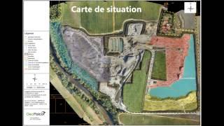 Levé topographique volumétrie par drone GEOFALCO