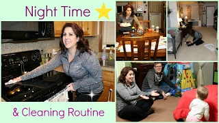 NIGHT TIME CLEANING & ROUTINE!// SPEED CLEANING