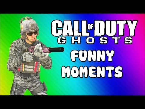 COD Ghosts Funny Moments Chasm Bus Drowning Tree Tremor Trolling Friends Map Interactions