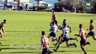 Rugby Kick and Chase - Club Footy Tries