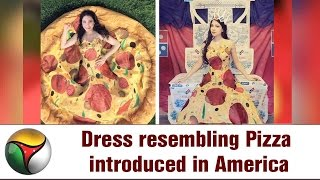 Dress resembling Pizza introduced in America